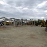 Prekybos paskirties pastato statybos projekto konstrukcinė dalis Joniškyje, 2010 m.