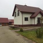 Vieno buto gyvenamojo namo statybos projektas Pakruojo r., 2015 m.