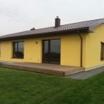 Vieno buto gyvenamojo namo statybos projektas Šiaulių r., 2014 m.