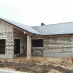 Vieno buto gyvenamojo namo statybos projektas Šiaulių r., 2017 m.