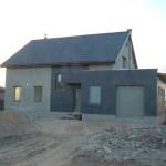 Vieno buto gyvenamojo namo statybos projektas Kuršėnuose, 2013 m.