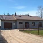 Vieno buto gyvenamojo namo statybos projektas Šiauliuose, 2013 m.