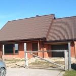 Vieno buto gyvenamojo namo projekto konstrukcinė dalis Šiauliuose, 2013 m.