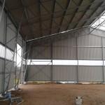 Garažo paskirties pastato statybos projektas Raseinių r., 2014 m.