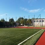 Futbolo kamuolio sulaikymo atitvaros, atraminės sienutės statybos projektas, 2016 m.