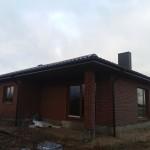 Vieno buto gyvenamojo namo statybos projektas Šiaulių r., 2015 m.